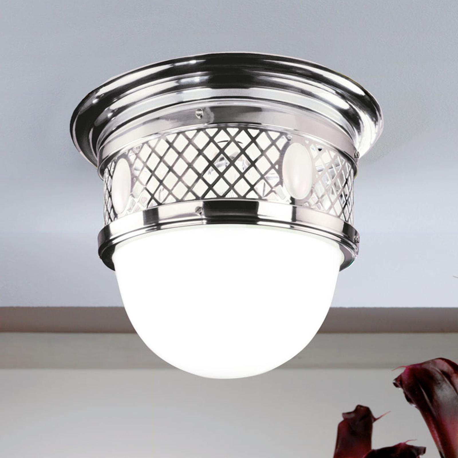 Stary Wiedeń – mosiężna lampa sufitowa