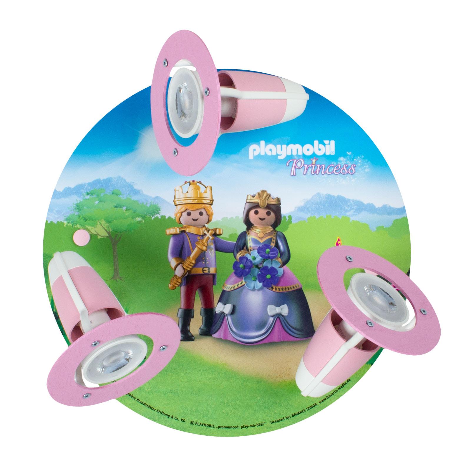 Plafonnier 3 spots PLAYMOBIL Princess