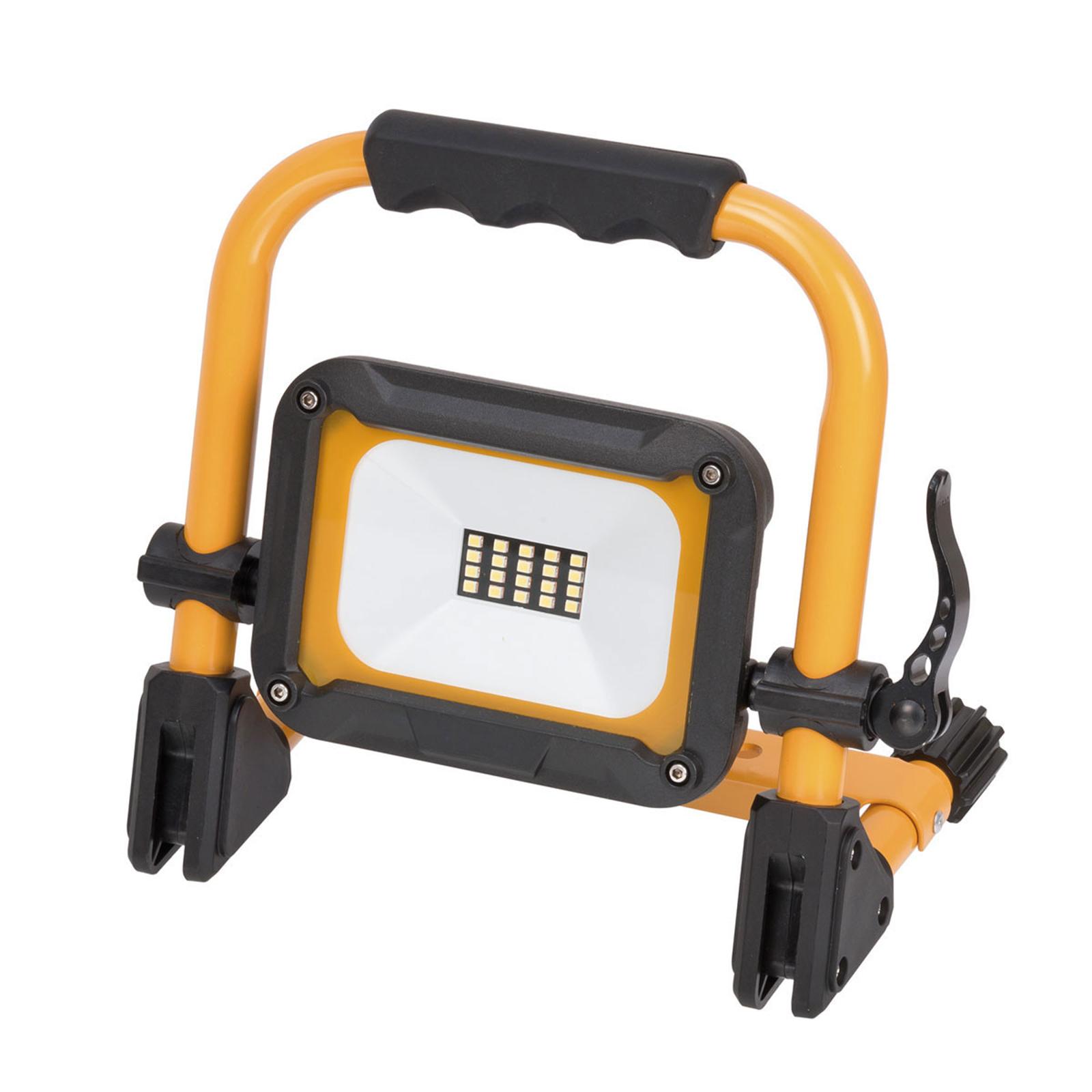 LED-Baustrahler Jaro m. Akku, mobil, IP54 10W