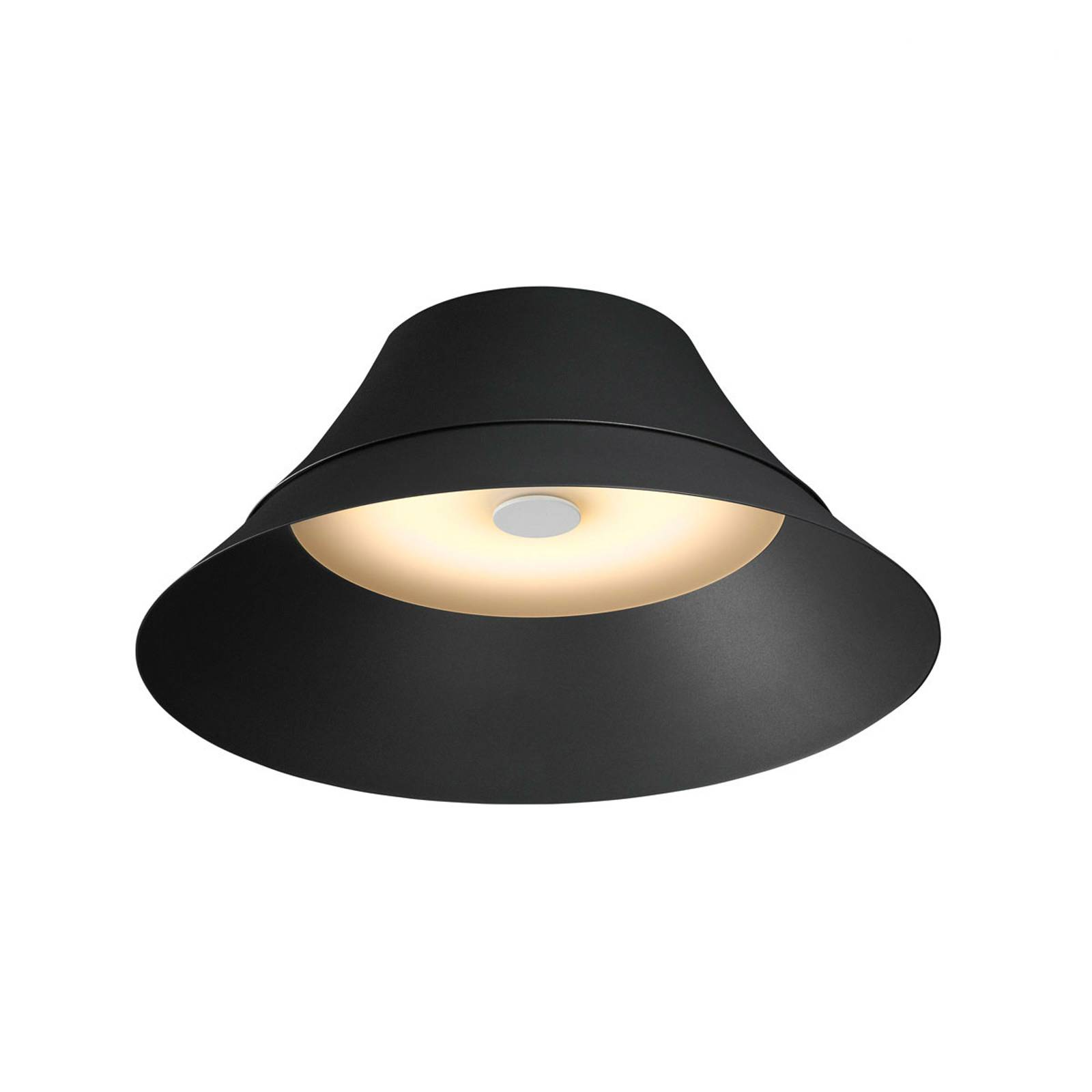 SLV Bato 45 lampa sufitowa LED czarna