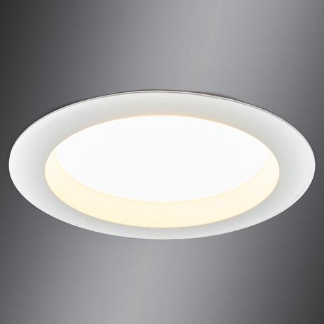 Dający jasne światło downlight LED ARIAN, 17,4 cm