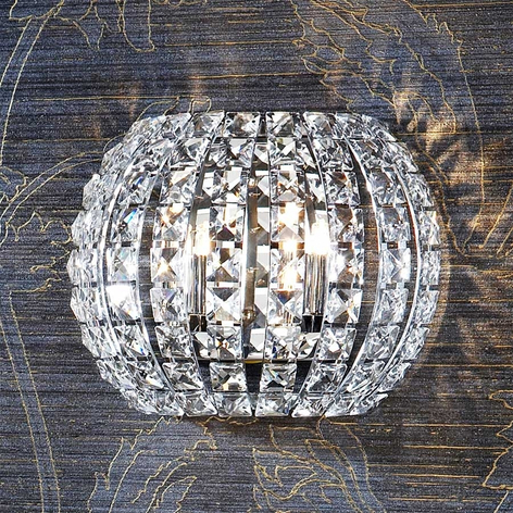 Kristallen wandlamp DIAMOND LED