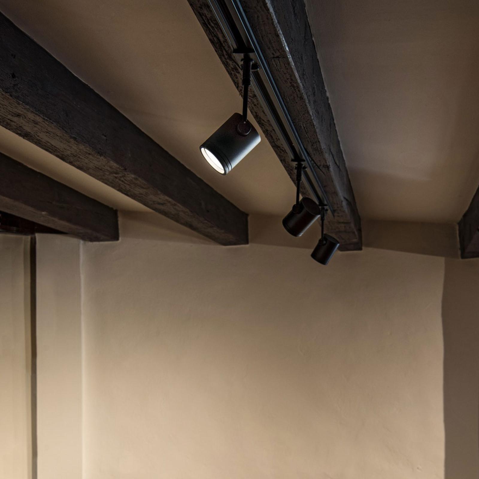 SLV BIMA 1 spotlight til strømskinne, sort