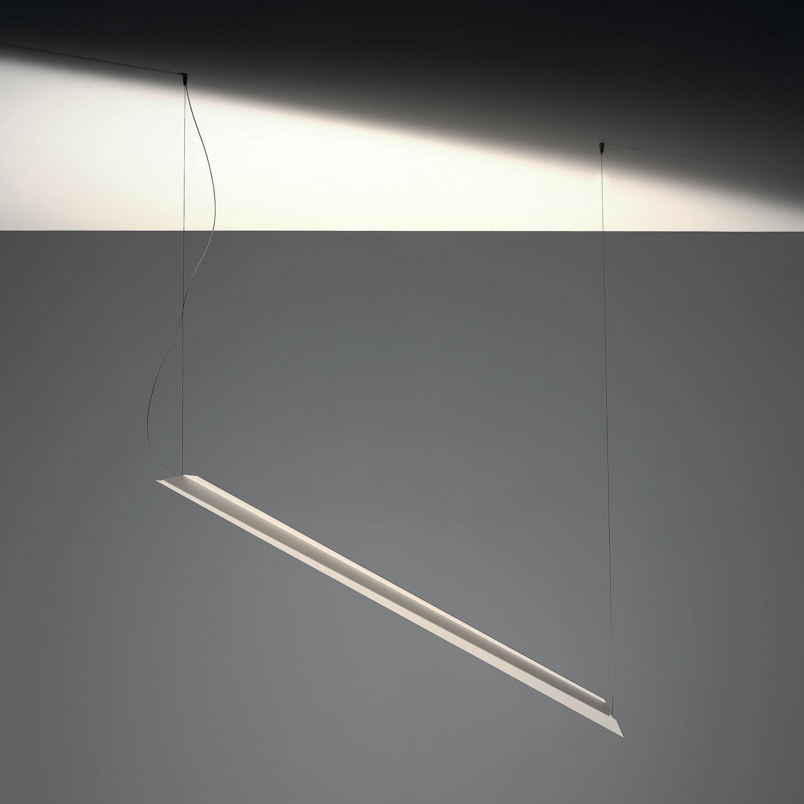 Knikerboker Schegge LED-Hängeleuchte 1-fl. weiß