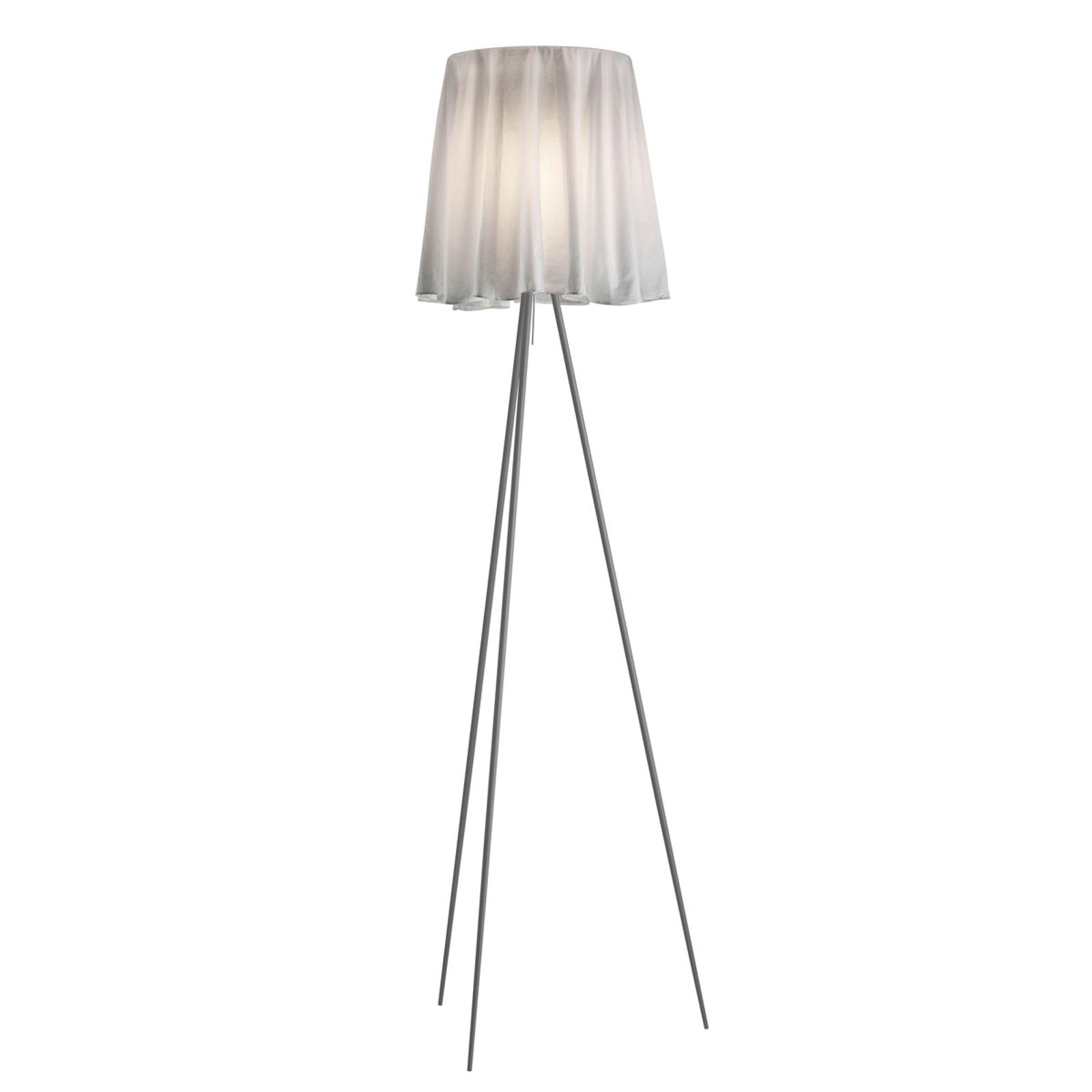 FLOS Rosy Angelis stojaca lampa podstavec striebro