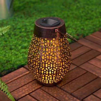 Pauleen Sunshine Wish LED-Solar-Laterne in Kupfer