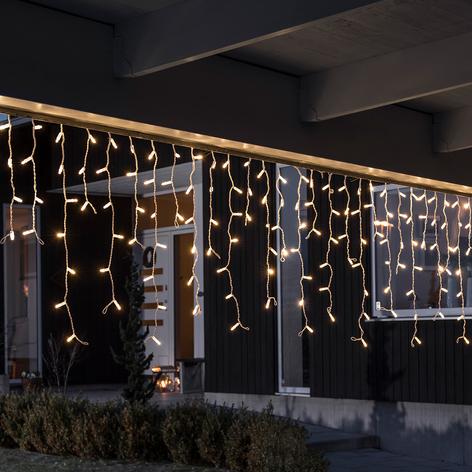 Zasłona LED, zestaw rozsz., 24 V, 100-pkt