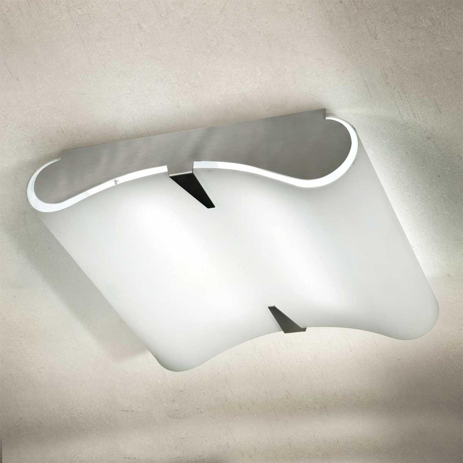 Hvelvet taklampe SECRET 9220, E27, 40x40 cm
