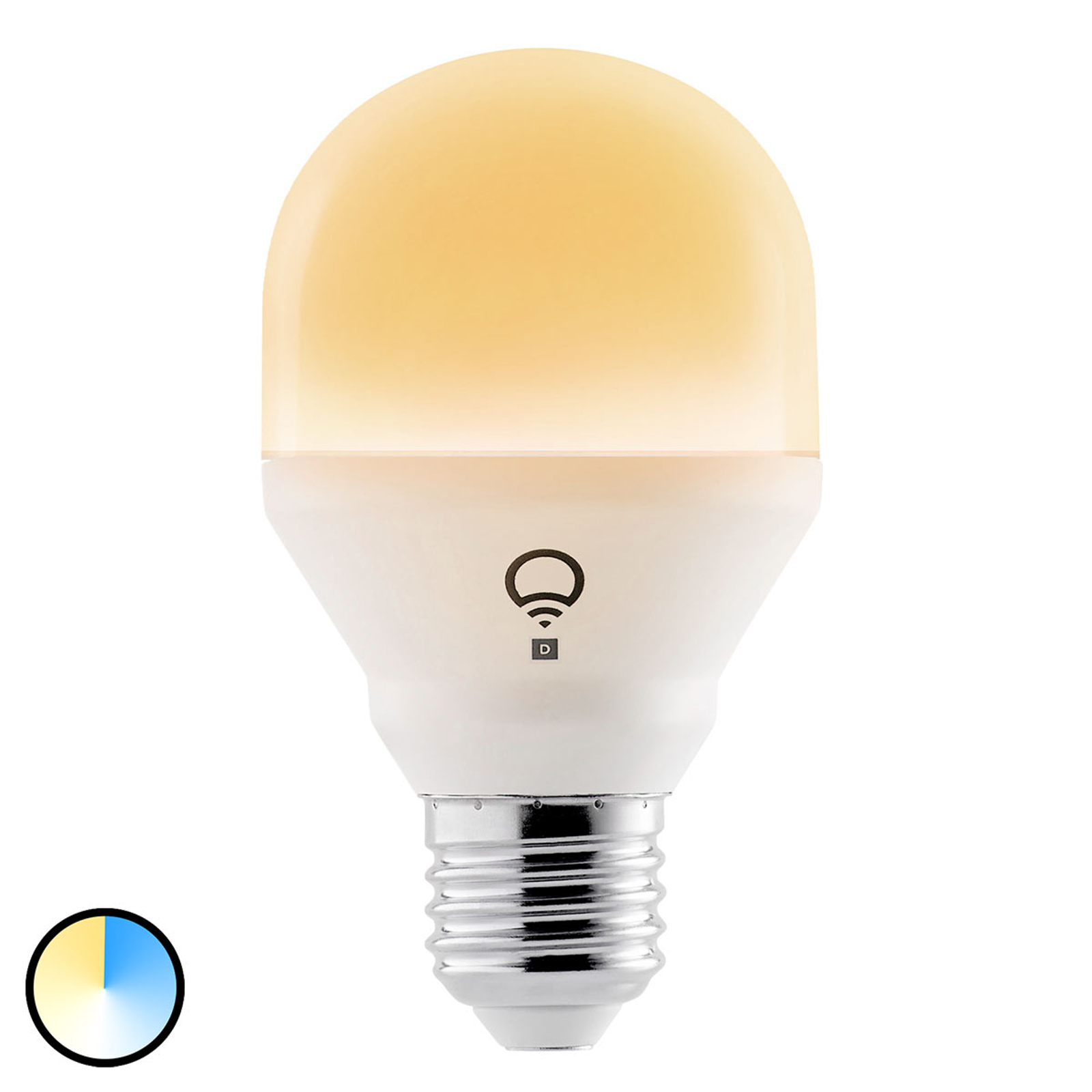 LIFX Mini Day&Dusk LED-Lampe, E27 9W, 2.700-4.000K