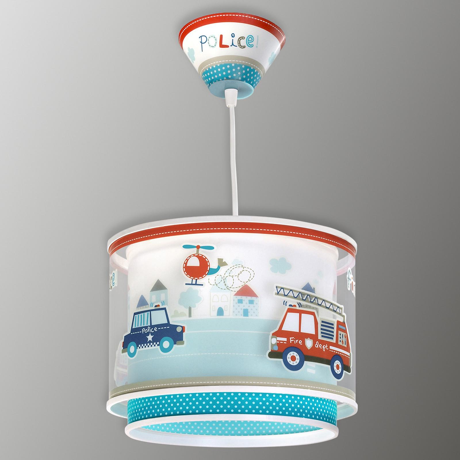 Police - lampada a sospensione per bambini