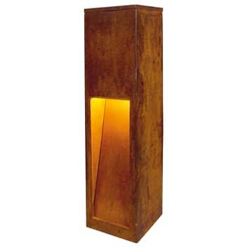 Högkvalitativ sockellampa Rusty Slot 50