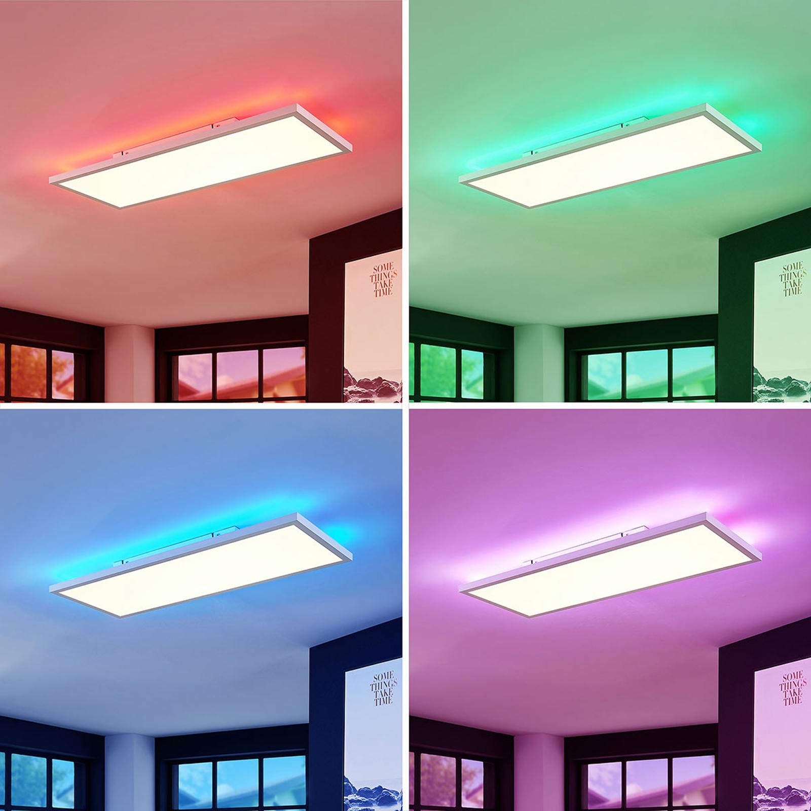 Pannello LED Brenda CCT con telecomando, 30 x 80cm