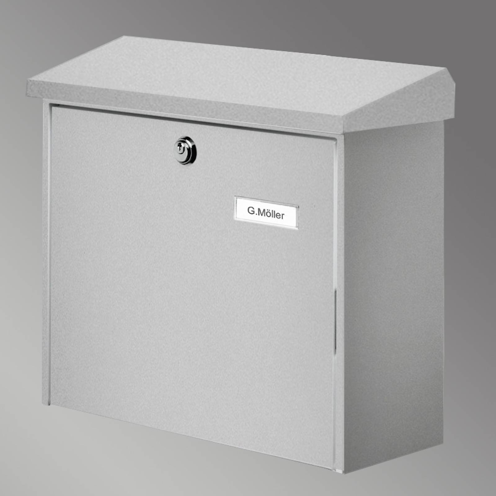 COMFORT letterbox, silver