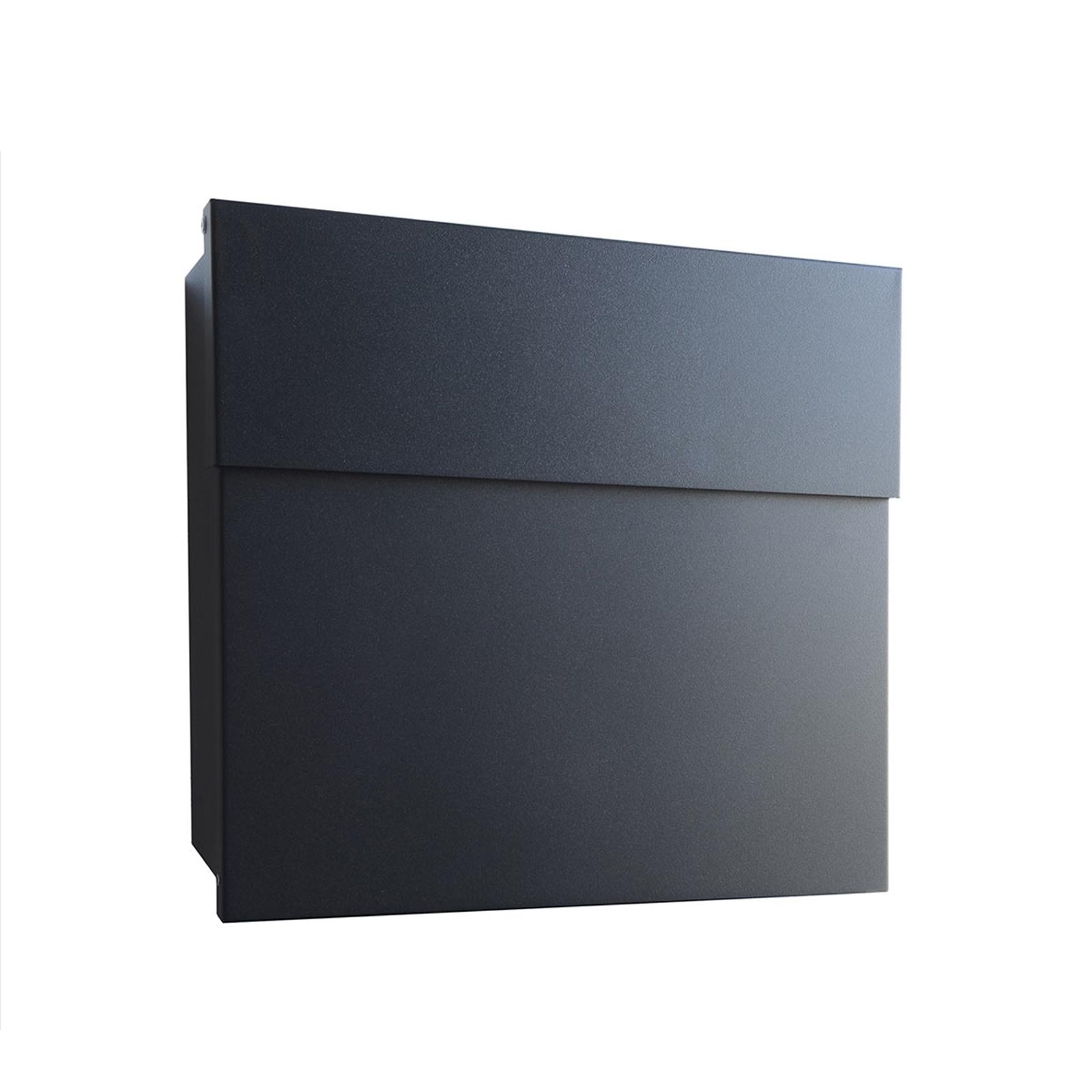 Design-brievenbus Letterman IV, zwart