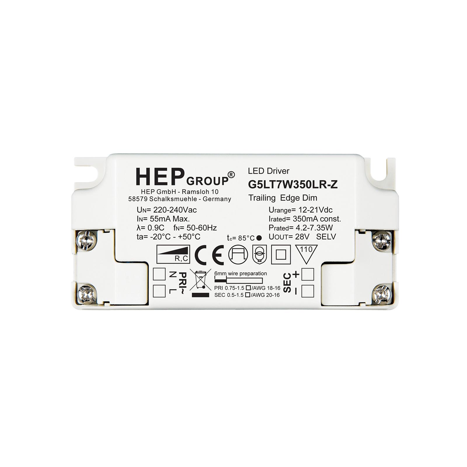 LED-driver G5LT, 7 W, 350 mA, dimbar, CC