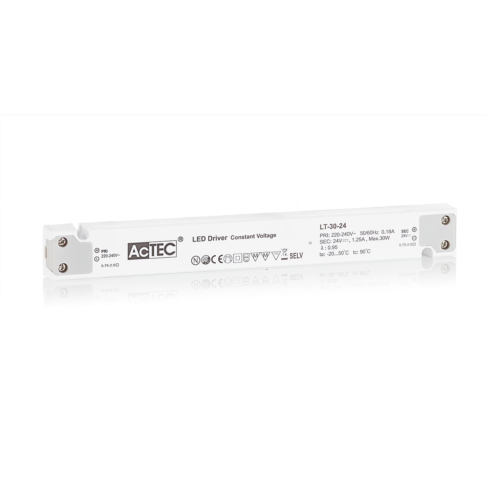 AcTEC LT LED-driver CV 24 V, 30 W