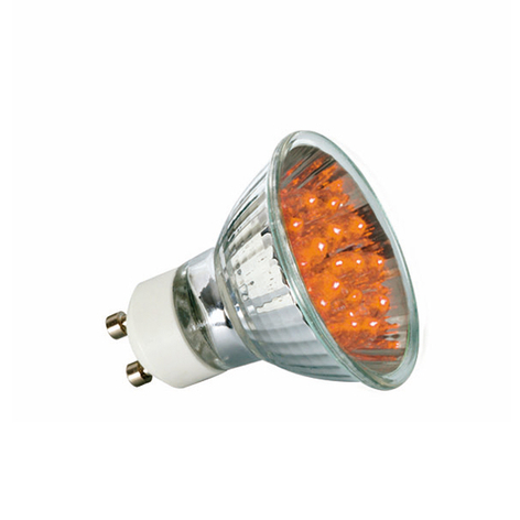 Paulmann GU10 réflecteur LED 1 W, orange