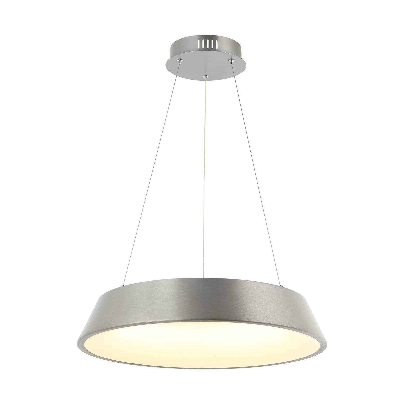 Lindby Lindby Milavi LED závěsné světlo, šedé