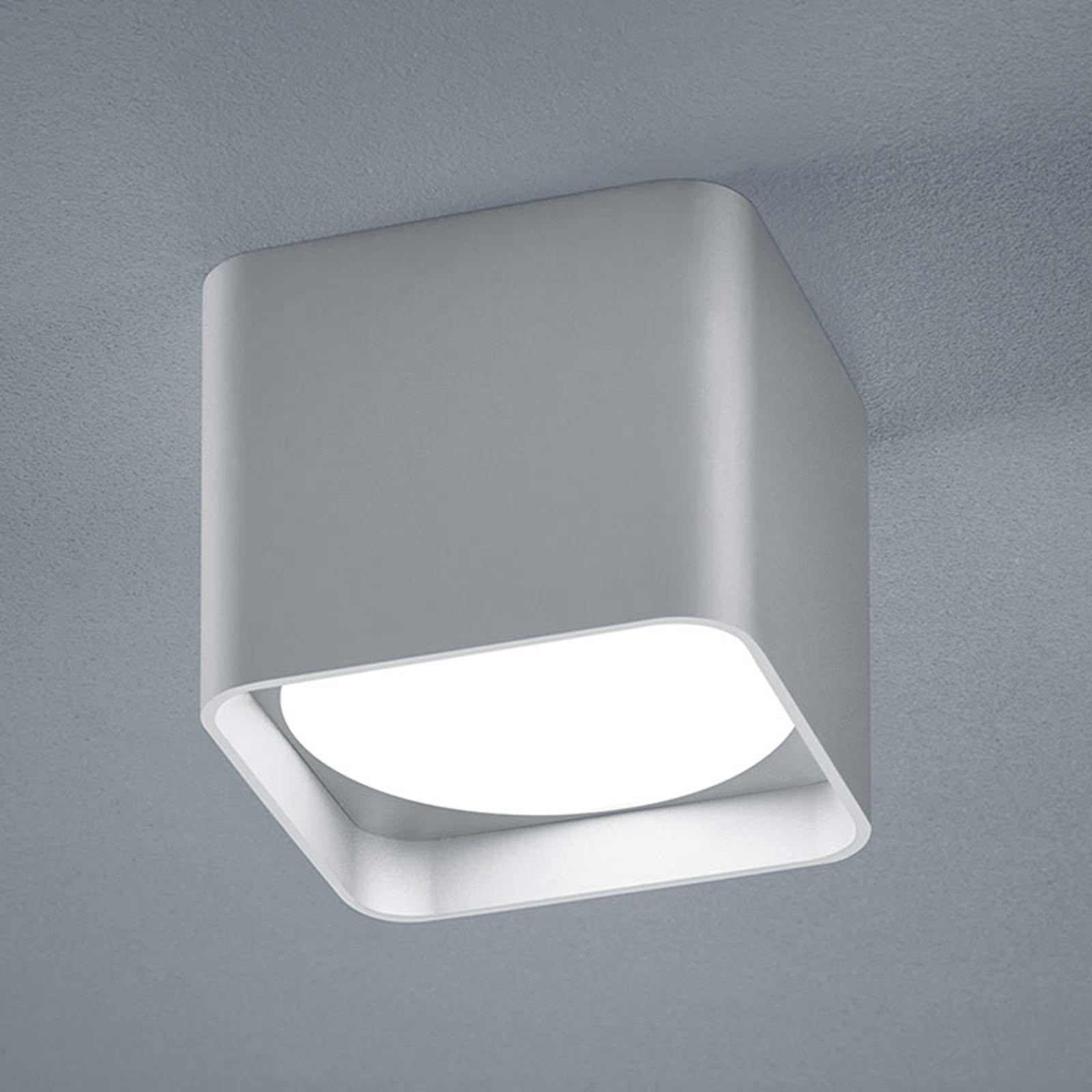 Helestra Dora LED-Deckenleuchte eckig, silber matt kaufen