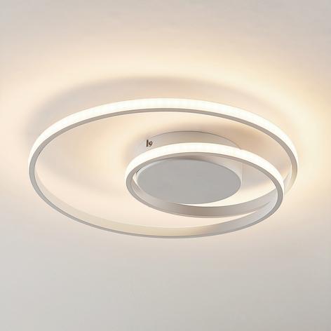 Lindby Kyron LED-Deckenlampe, weiß matt