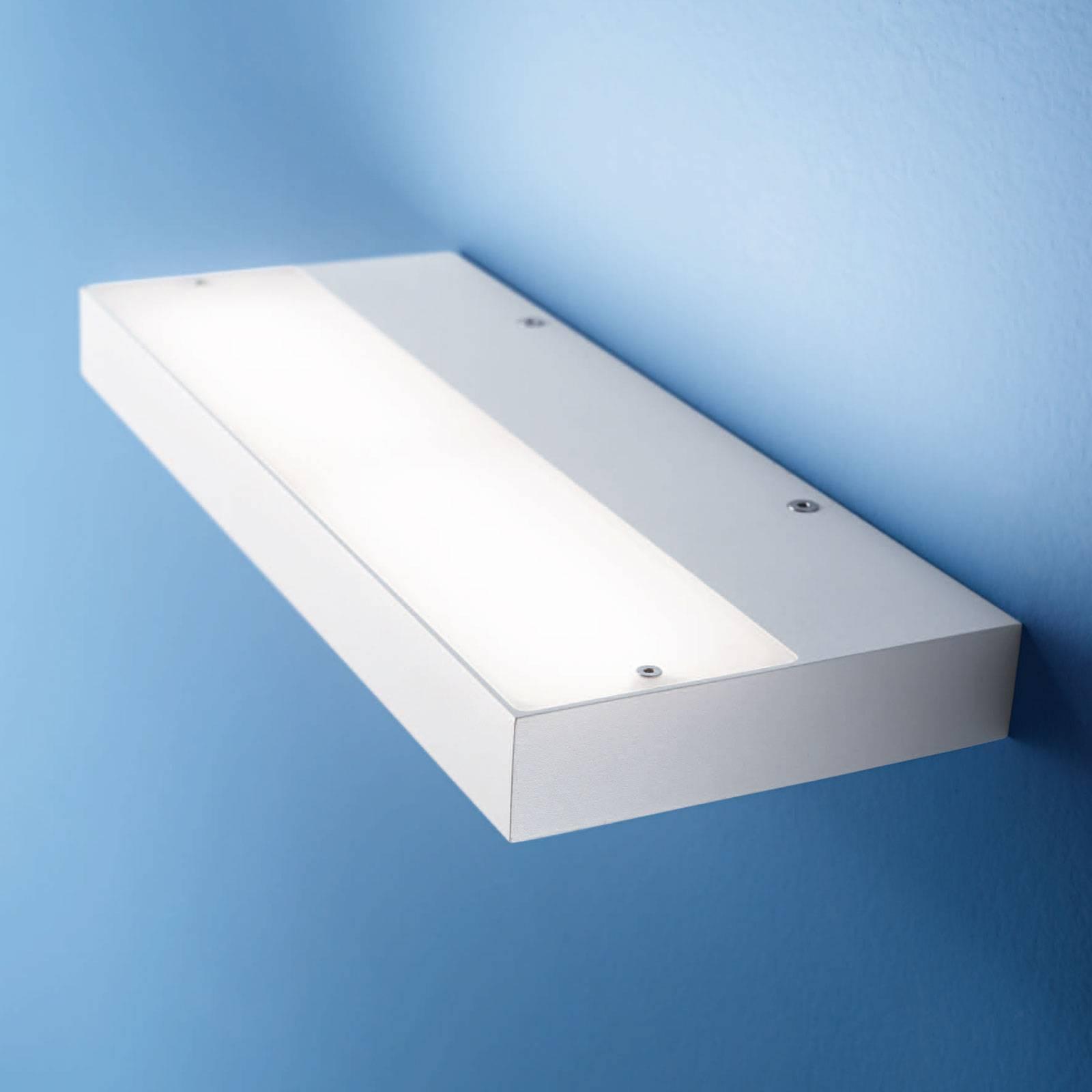LED-Wandleuchte Regolo, Länge 24 cm, weiß