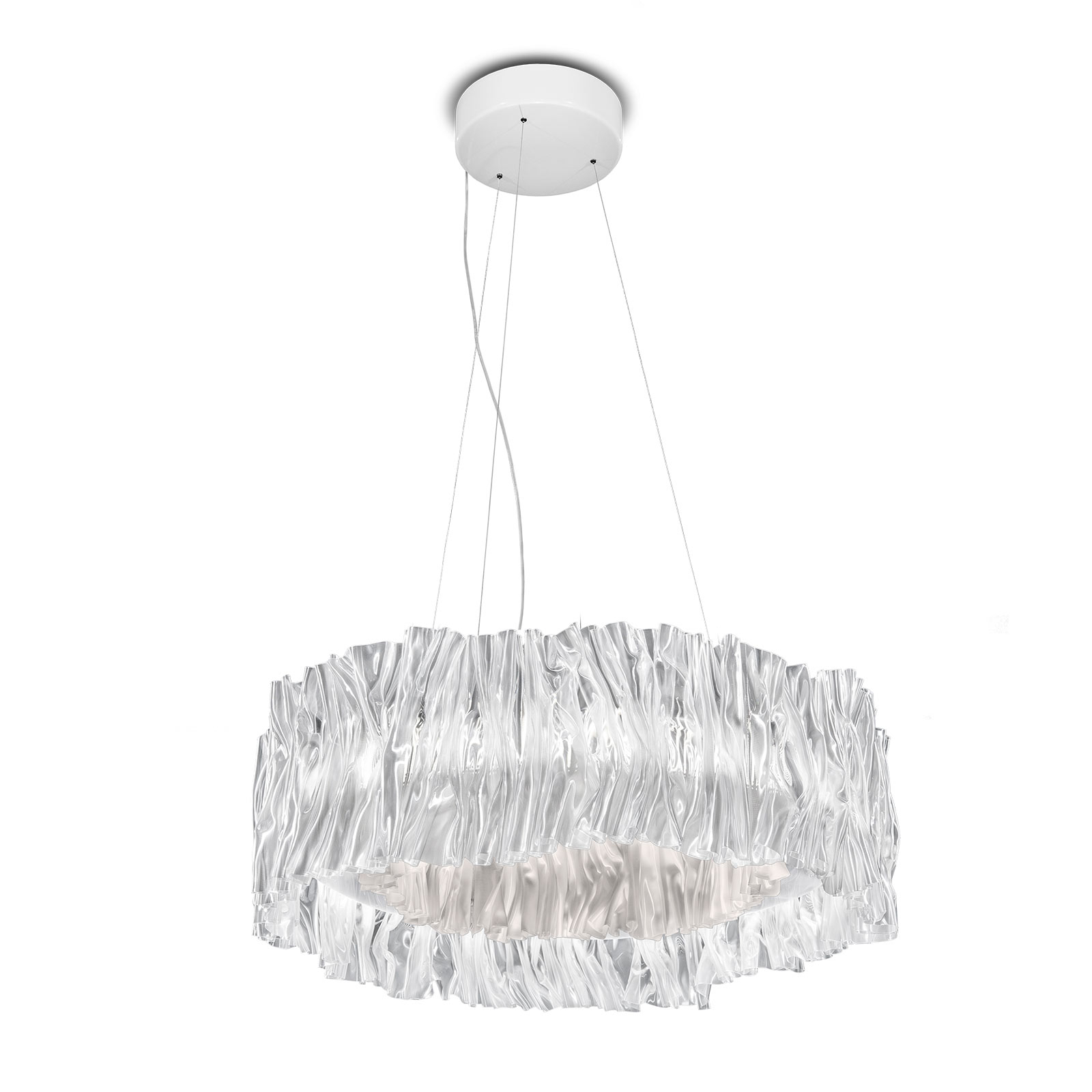 Slamp Accordéon LED závěsné světlo bílá 3000 K