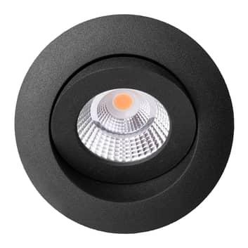 Quick Install Allround 360° spot noir 2700K