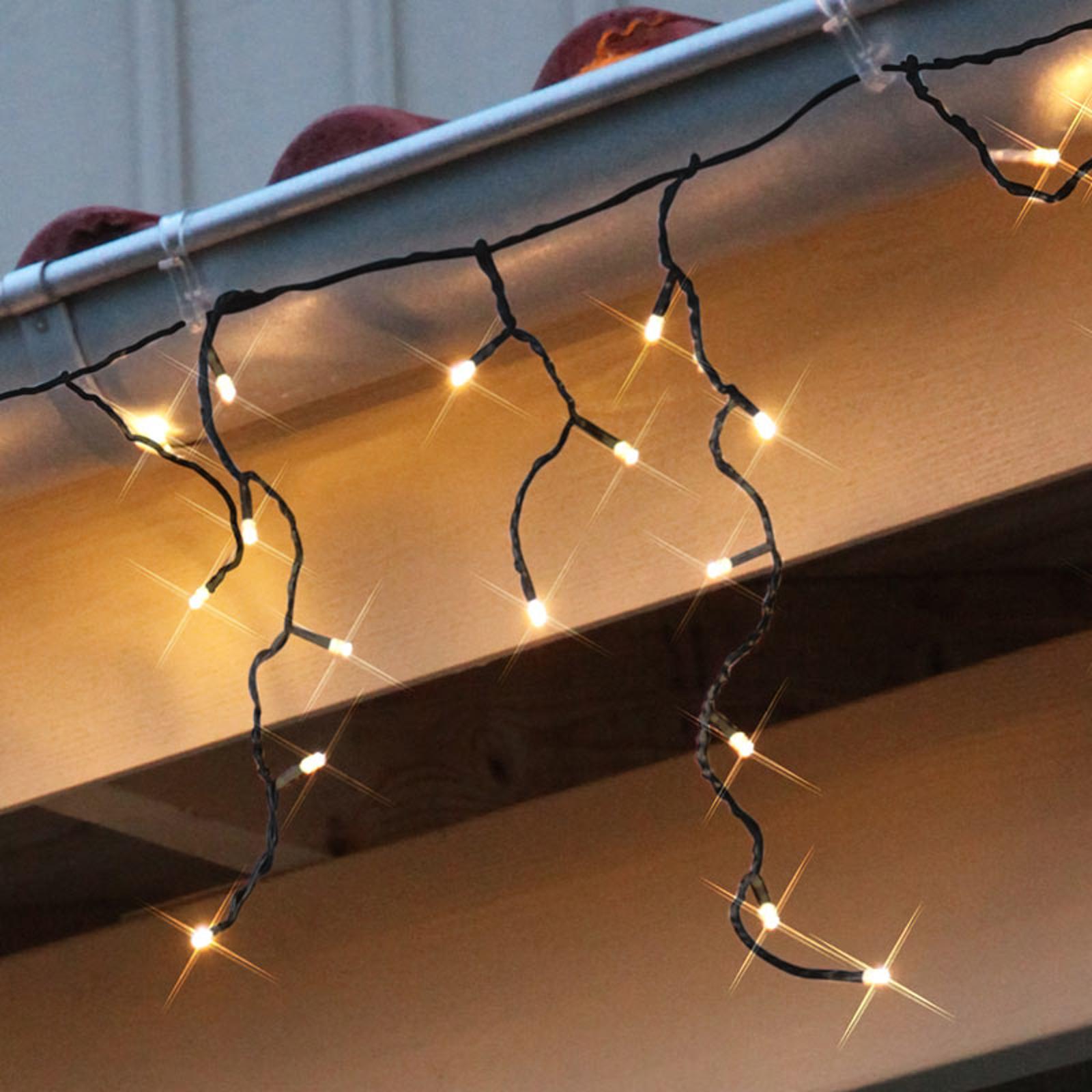 Icicle LED 144 lampor, 4x04 4m   Lamp24.se