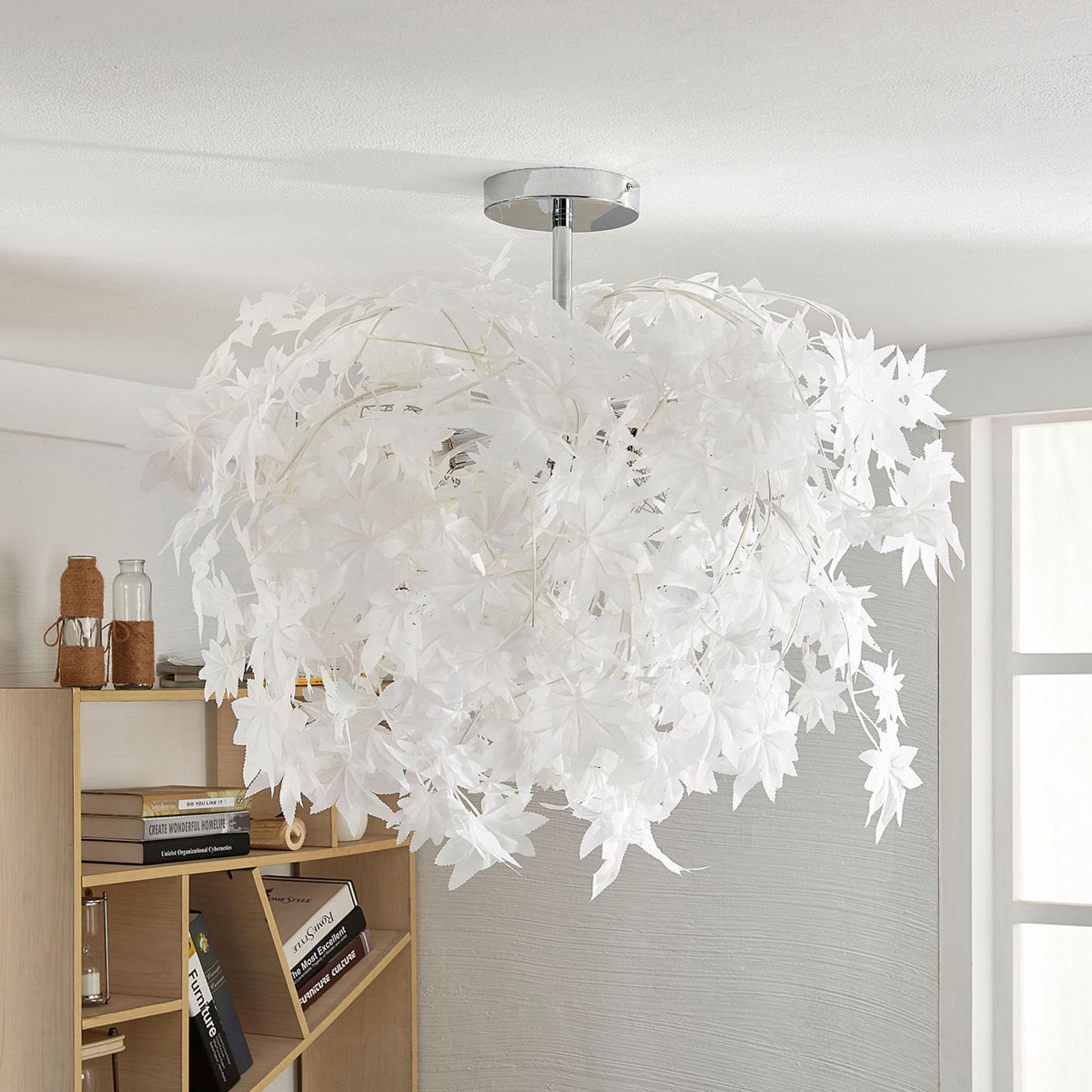 Deckenlampe Maple mit Blättern, 70 cm