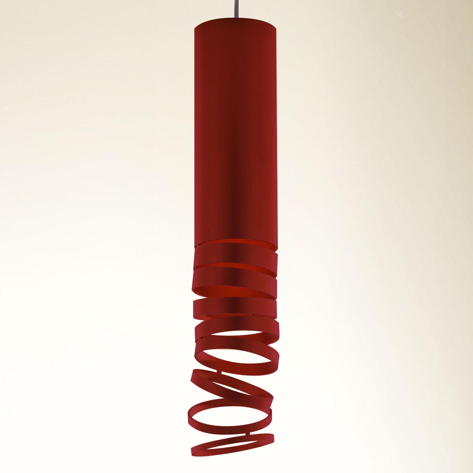 Artemide Decomposé Hängeleuchte rot