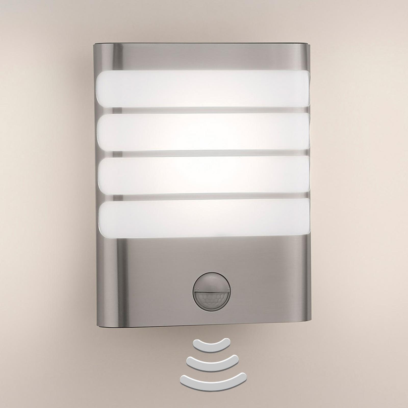 Philips Raccoon LED-væglampe rustfrit stål