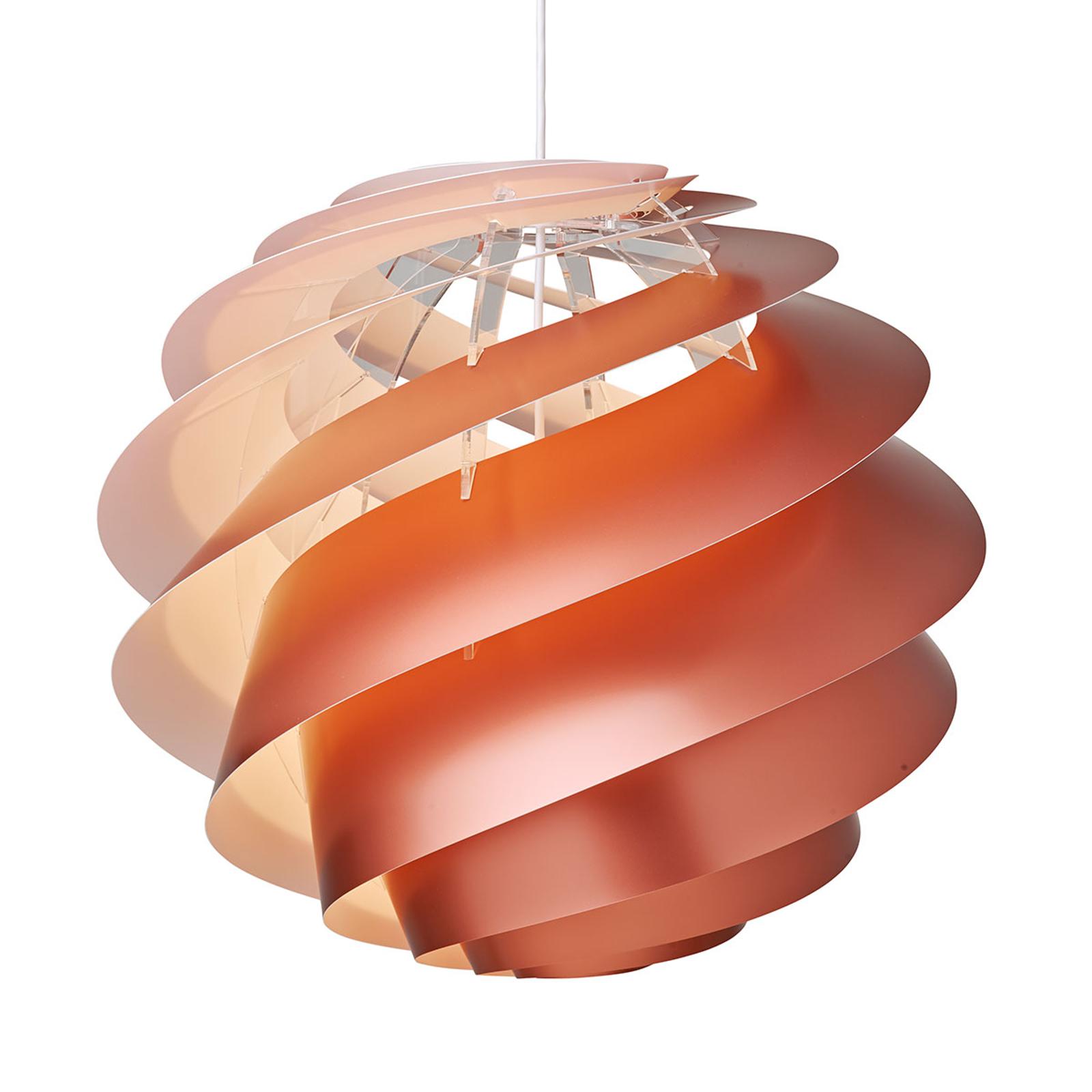 LE KLINT Swirl 3 Large - závěsné světlo v mědi