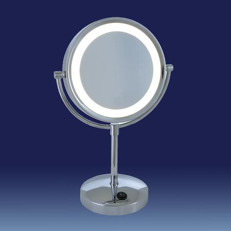 Podświetlane LED lustro kosmetyczne London