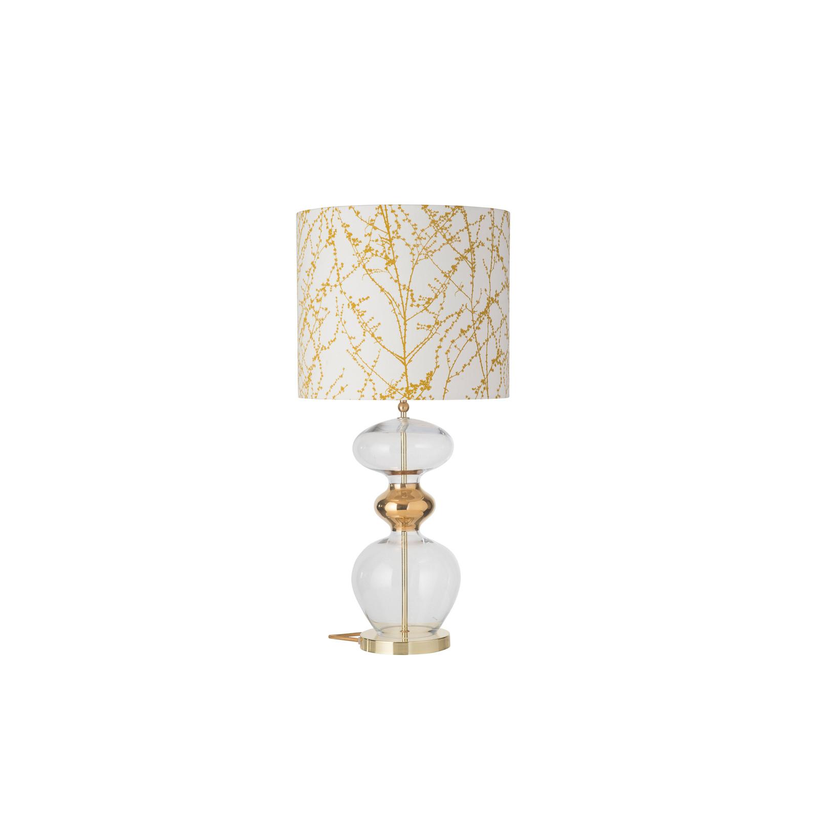 EBB & FLOW Futura bordlampe, Branches ochre, gold