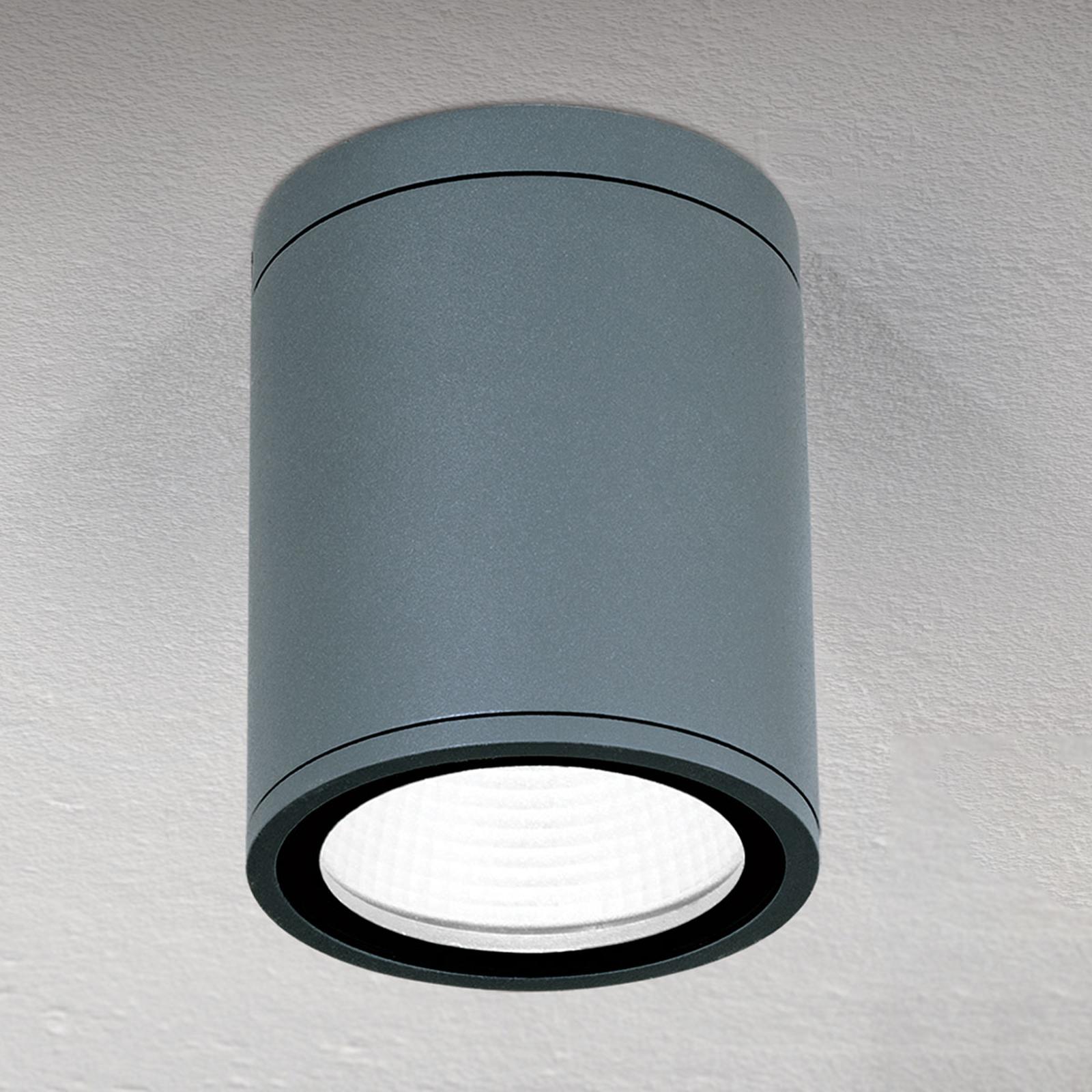 Lampa sufitowa LED Sputnik IP65 Ø 9cm antracytowa