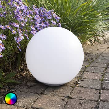 Schwimmfähige Solar-LED-Leuchtkugel Globo