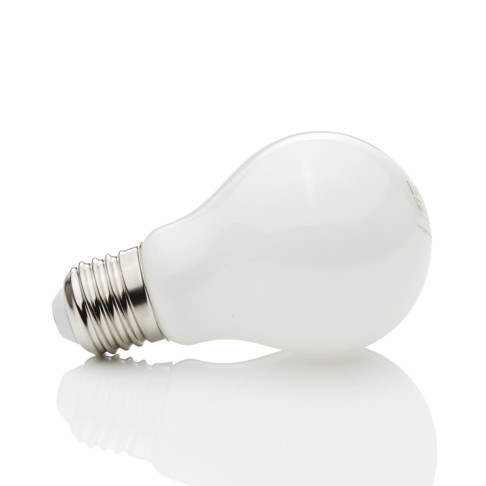 E27 -LED-lamppu 4W, 470Lm, 2700K, opaali