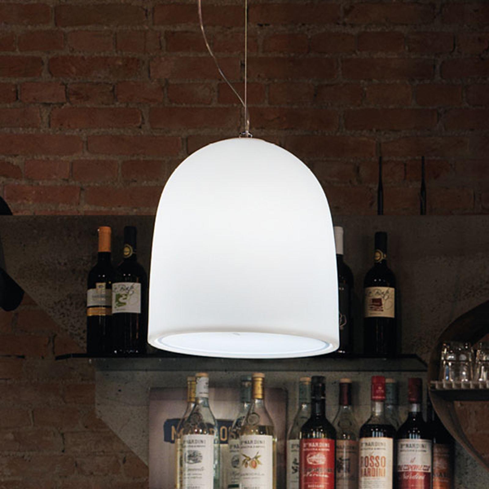 Modo Luce Campanone lampa wisząca Ø 33 cm biała