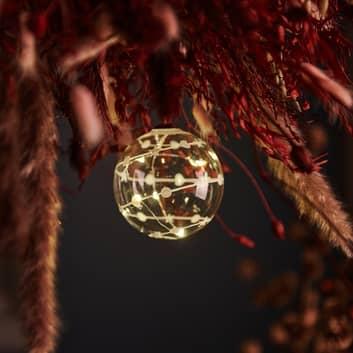 Suspension déco Sweet Christmas balle, Ø 8cm