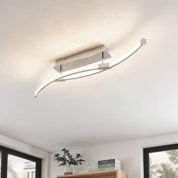 Lindby Rouven LED-taklampe spiralform 4 lyskilder