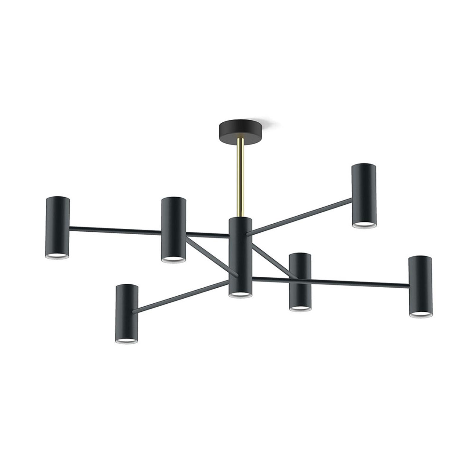 Modo Luce Chandelier plafonnier 13 l 100cm noire