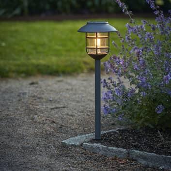 Filippa LED-solcellelampe med jordspyd
