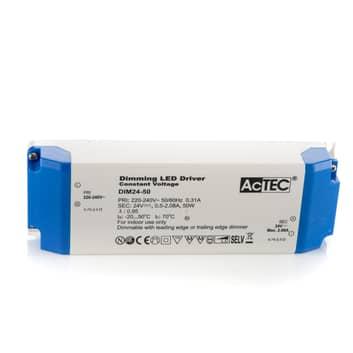 AcTEC DIM LED-Treiber CV 24V, 50W, dimmbar