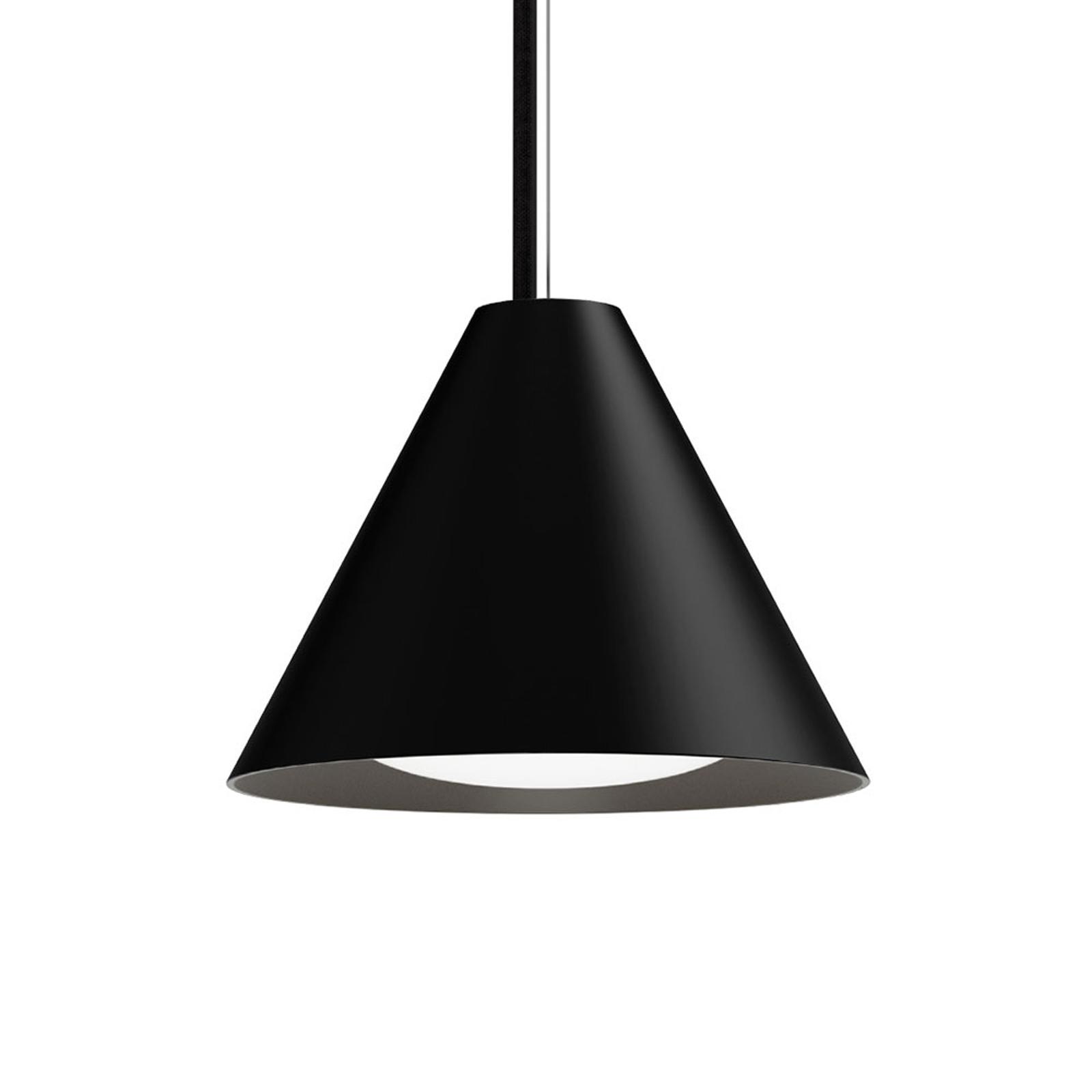 Louis Poulsen Keglen LED hanglamp 17,5cm zwart