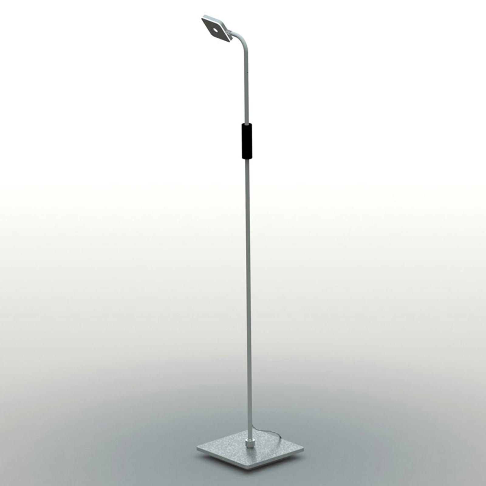 Bopp Move - LED vloerlamp met accu, aluminium