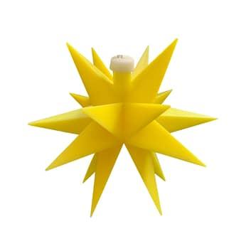 LED-Stern außen, Trafo 18-Zacker, Ø 12 cm