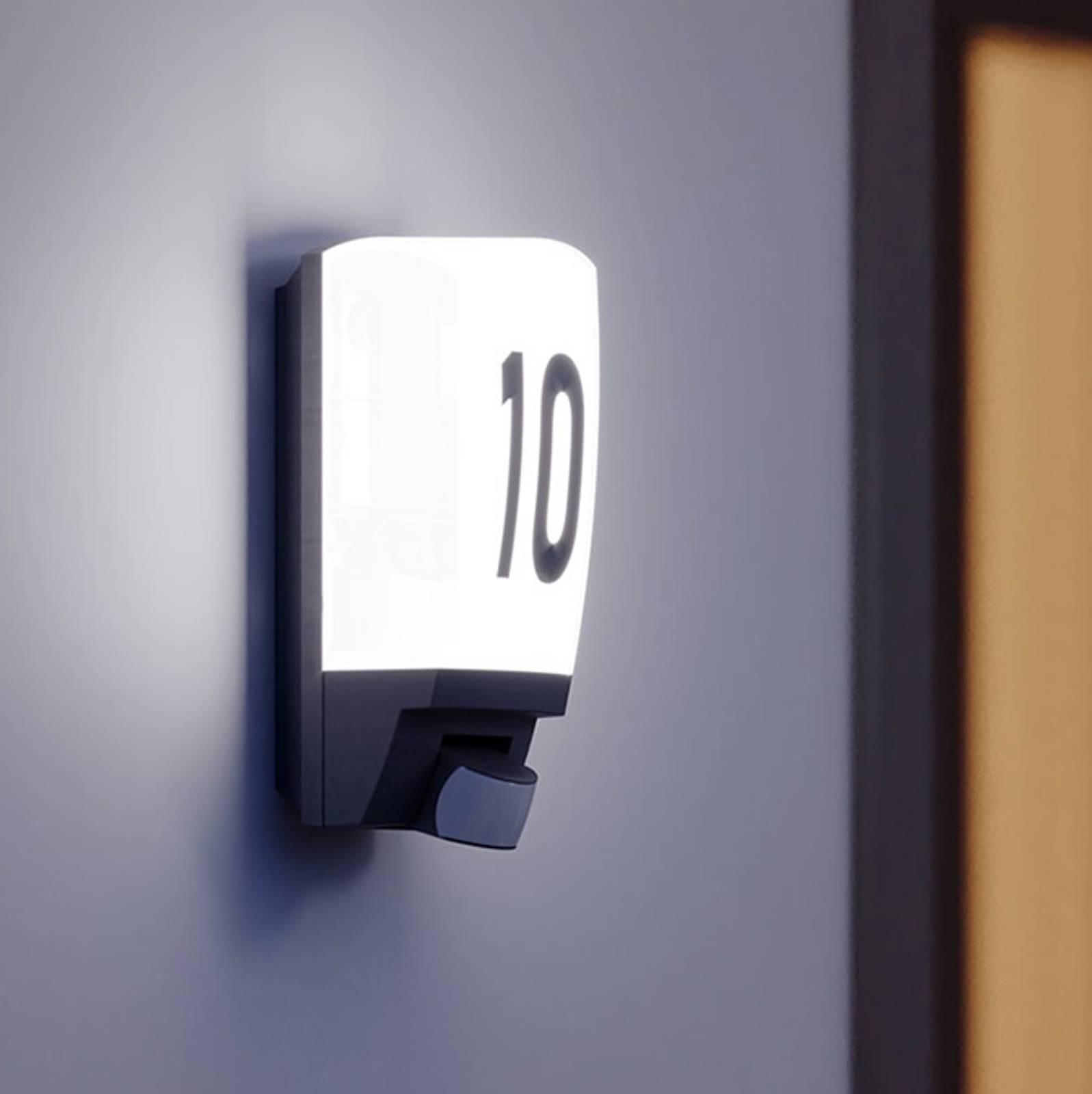 STEINEL L 1 - lampada numero civico sensore bianco
