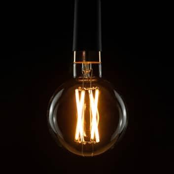 SEGULA LED-globepære E27 15 W G125 2.200 K dæmpbar
