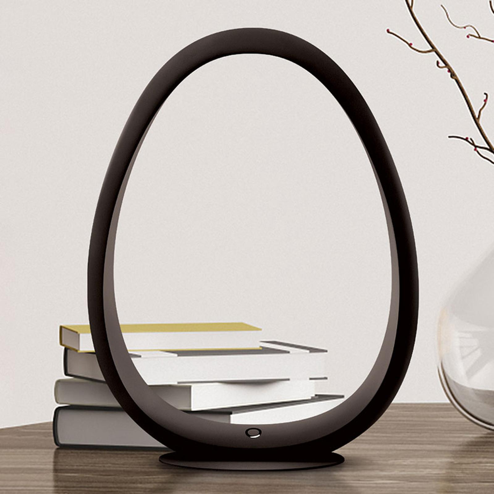 TRAE Umi LED-Tischleuchte 5.000 K schwarz