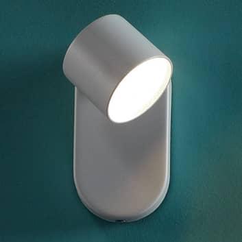 Star LED vegglampe, stillbar, hvit